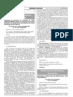Ratifican el Acuerdo de Concejo N° 050-2016/CM-MSDO sobre la creación del Centro Poblado de Santa Rosa del distrito de Santo Domingo de los Olleros