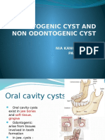 Odontogenic Cyst and Non Odontogenic Cyst