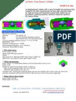 Helical Rotor Flow Meter01