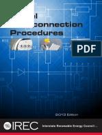 2013 IREC Interconnection Model Procedures 3