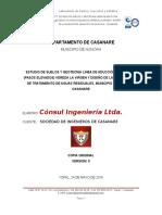 Informe de Suelos -Consul Ingenieria Ltda