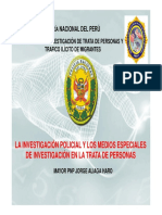 Investigacion Policial Medios Especiales