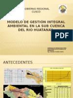 Programa de Gestión Integral Ambiental en la Sub Cuenca del Rio Huatanay.pptx