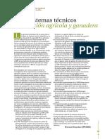 Tecnicos Produccion Agricola Ganadera