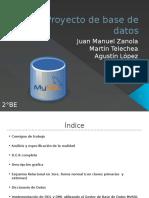 Proyecto de Base de Datos FULL
