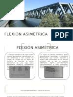 Flexión asimétrica