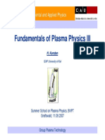 Fundamentals of Plasma