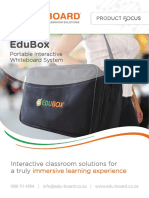 EduBox Portable Interactive Whiteboard