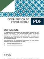 Distribución de Probabilidad
