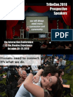 Why You Should Speak at TribeCon 2010