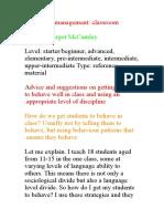 Classroom Management11