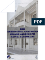 Guide Sur Les Procedures de Construction