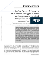Aggression, Video Games Revisited