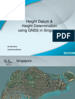 Height Datum & Height Determination Using GNSS in Singapore