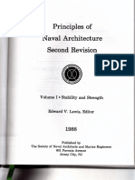 Principles of Naval Architecture (Vol. 1 Stability and Strength)Parra