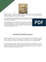 Biografias Personajes Independencia