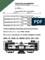 Congress Bill Form 2