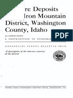 1. USGS - Iron Report