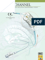 CHANNEL - INTRACRANIAL BALLOON EXPANDABLE STENT