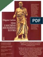 Diôgenes Laêrtios-Vidas e Doutrinas Dos Filósofos Ilustres -Editora Universidade de Brasília (2008)