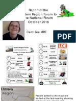 Eastern Region NF Report Oct 16