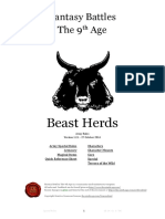 The Ninth Age Beast Herds 1 2 1