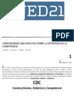 Construyendo Una Didáctica Sobre La Estrategia de La Competencia - Ined21