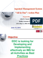 """Integrated Management System """" All in one"""""""