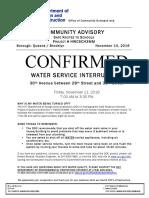 Water Service Interruption_20161111