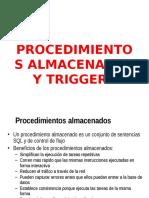 Ejercicio de Pa y Triggers