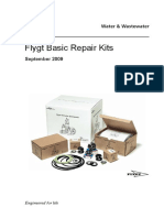 Flygt Repair Kits Info