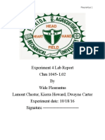 Experiment 4 Lab Report