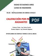 10.- Calefacci+¦n por paneles radiantes