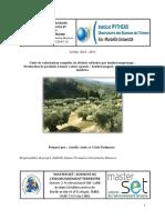 Unité de valorisation complète de déchets oléicoles par lombricompostage