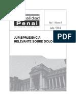 Jurisprudencia Relevante Sobre Dolo
