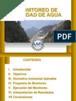 Monitoreo Calidad de Aguas _ MONITOREO II