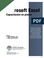 Microsoft Excel - Capacitación en Planta