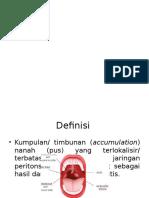 abses peritonsilar
