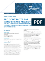 EPC Contracts Wind Energy Projects South Africa