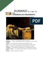 Revista Brumario Número 1 (año 2009)