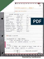 Resumo Área 1 - Eletricidade C-D