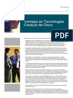 Ventajas en Tecnologias Catalyst de Cisco