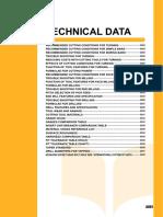 Mitsu 14 Technical Data