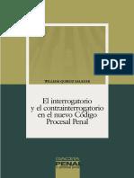 016-El Interrogatorio y El Contrainterrogatorio en El Nuevo Código Procesal Penal