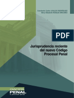 027-Jurisprudencia Reciente Del Nuevo Código Procesal Penal