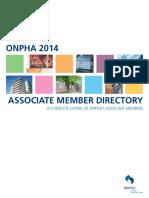 Associate Member Directory 2014