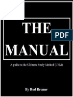 Rod Bremer - The Manual, A Guide to the Ultimate Study Method