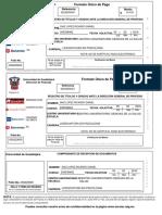 Formatos de Pago Cédula