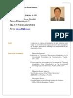 Curriculum MarcoAntonio.
