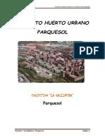 Proyecto Huerto Parquesol